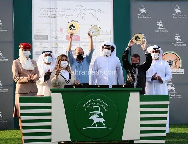 """برعاية مهرجان سباقات منصور بن زايد """"ياهوي"""" بطل الجولة 10 لكأس الوثبة في العين"""