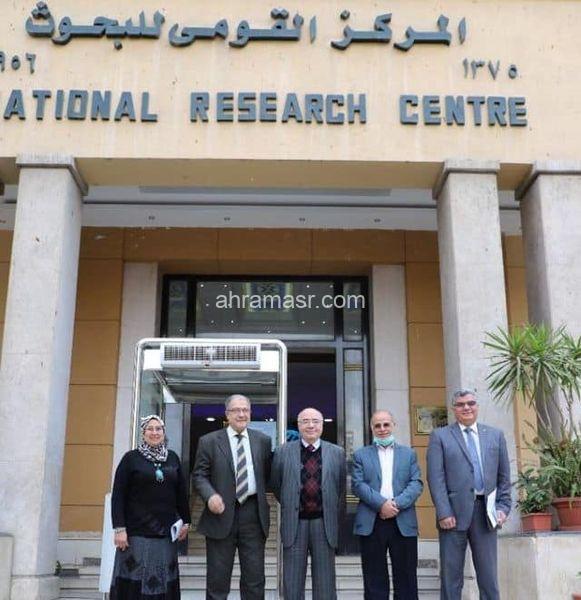 بروتوكول تعاون بين جامعة بدرو المركز القومى للبحوث..