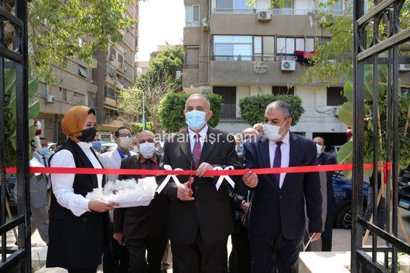 افتتح السيد الدكتور محمد عبد العاطي وزير الموارد المائية والرى اعمال تطوير وصيانة نادي الري بالزمالك
