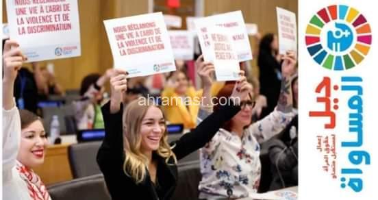 """رئيسا المكسيك وفرنسا وقادة الأمم المتحدة ومجتمع الشباب والمجتمع المدني يدعون لتحرك جريء مع افتتاح منتدى """"جيل المساواة"""" في المكسيك"""