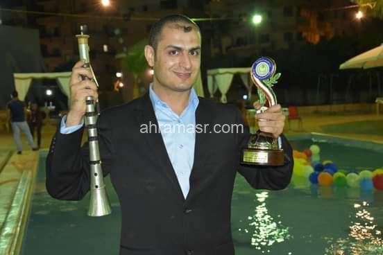 على أنغام المزمار البلدى..عماد ابو الحاج يفتتح فعاليات ليالى رمضان الثقافية