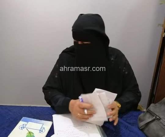 هبة محمد  والعمل الخيرى التطوعى