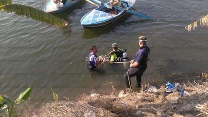 انتشال جثة طفل غرق في مياه ترعة بالشرقية .