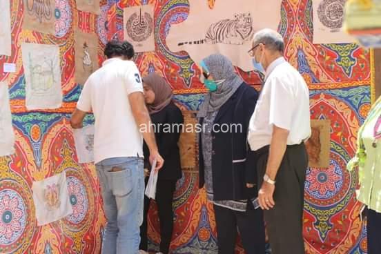 تفاصيل إفتتاح معرض الفن التشكيلي بـ«طيبة»
