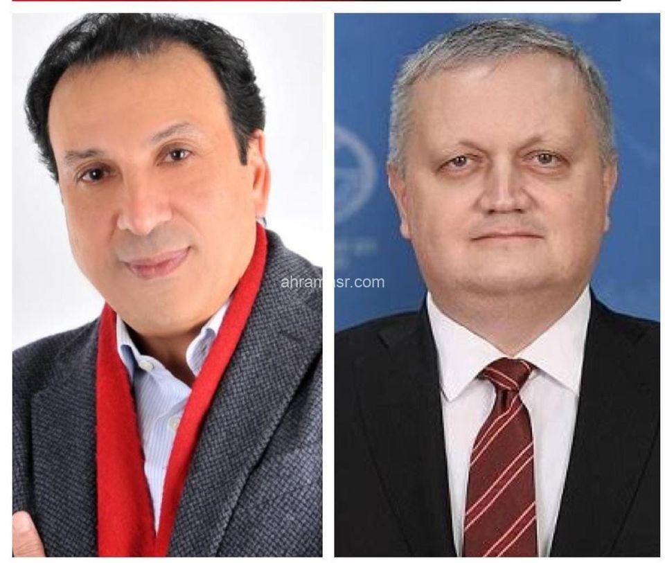 تهنئة مصرية فى عيد روسيا القومى