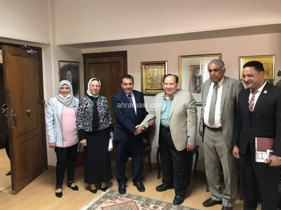 بالصور توقيع بروتوكول تعاون بين جامعة ميريت والسفارة اليمنية بالقاهرة