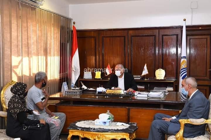 الداودي والباز يستقبلان ١٠٠ مواطن بعد ٤ شهور من توقف اللقاءات بسبب كورونا