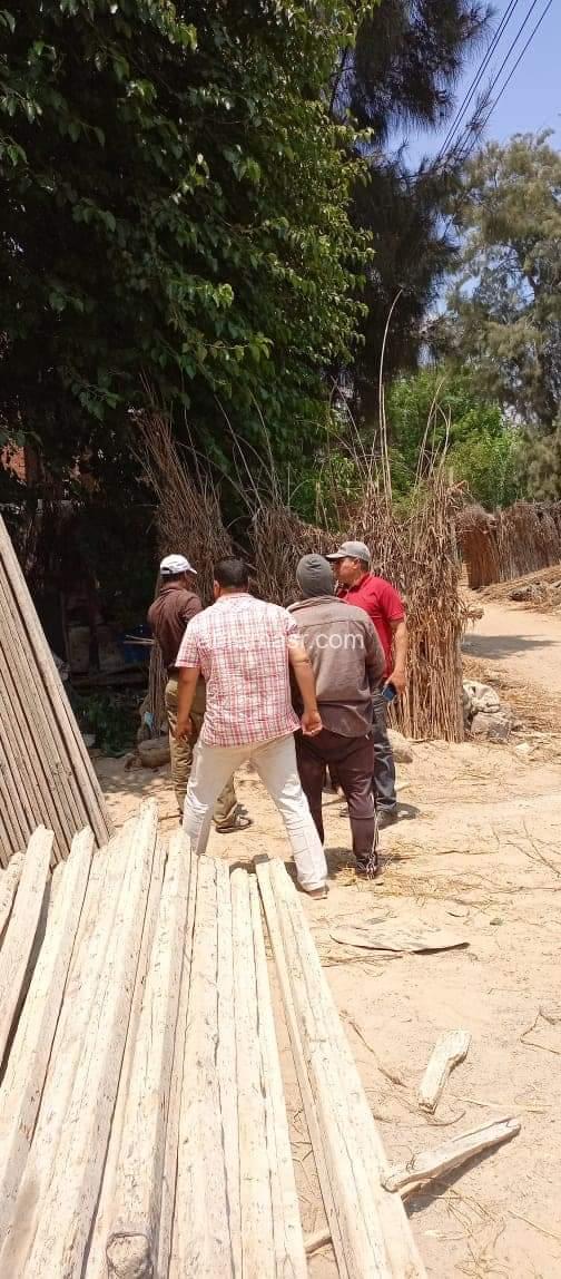 إيقاف أعمال بناء مخالفة وإزالة تعديات بنطاق 3 مراكز