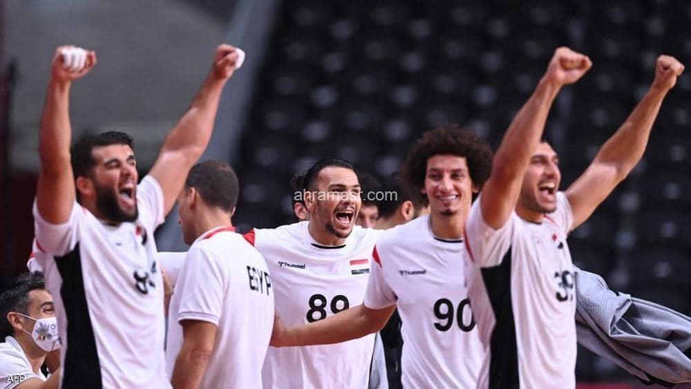 تأهل منتخب مصر لكرة اليد لربع نهائي أولمبياد طوكيو