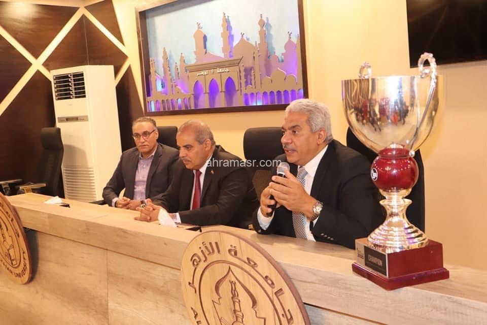 كأس العالم في مجال ريادة الأعمال يصل إلى جامعة الأزهر