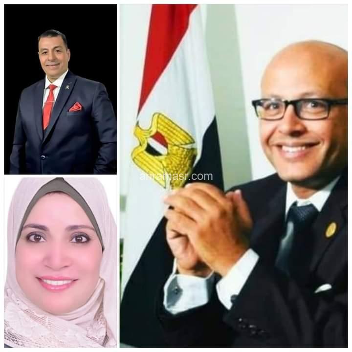 يتقدم الأعلامي العميد حاتم عاطف عويس وزوجته بالتهنئه للدكتور أحمد المصري