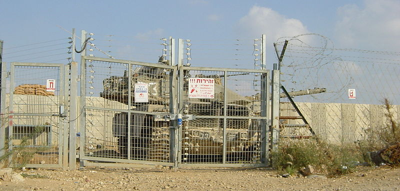 Isreal border fence