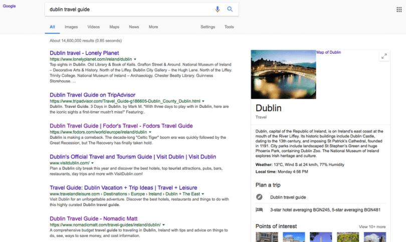 Travel Guide linkbuilding