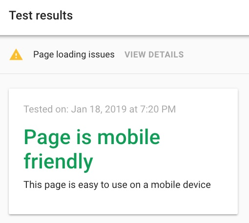 mobile friendly google 1