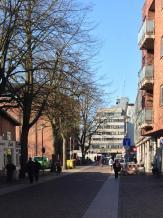 Blick auf das Ahrensburger Rathaus – Foto: Mia
