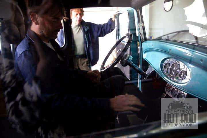 David Steele Insite Jeff Beck Car