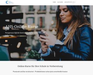AHS-Onlinekurse