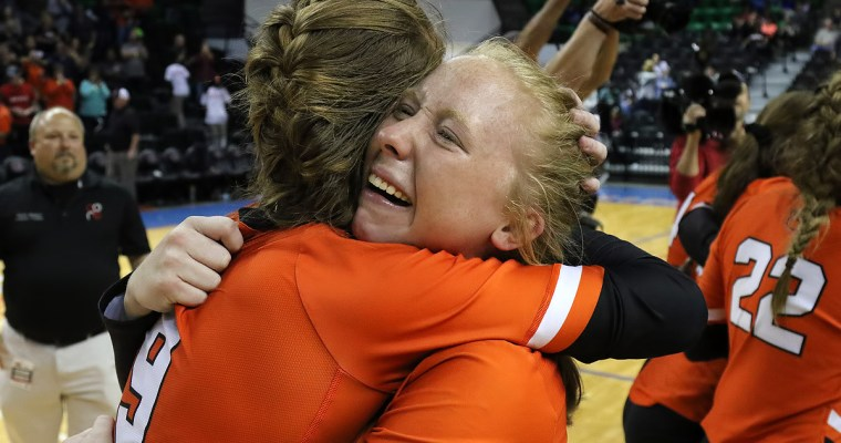 5A Volleyball CHAMPS