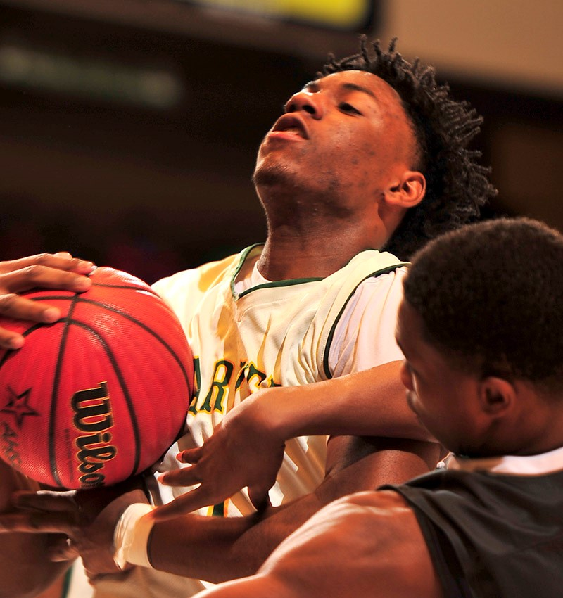 CLASS 6A BOYS' SEMIFINALS Carver-Montgomery 98, Hazel Green 68