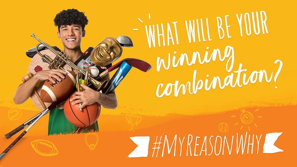 High school gives students the opportunity to participate in lots of sports and activities. Learn more at MyReasonWhy.com! #MyReasonWhy