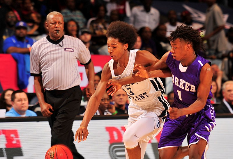 CLASS 6A BOYS' SEMIFINALS Paul Bryant 40, Parker 38