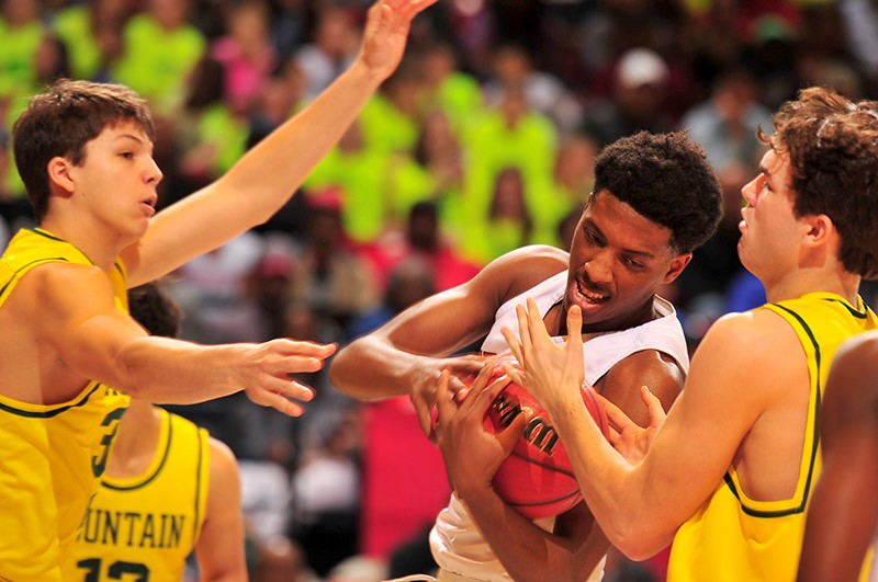 CLASS 7A BOYS' SEMIFINALS Mountain Brook 70, Central-Phenix City 42