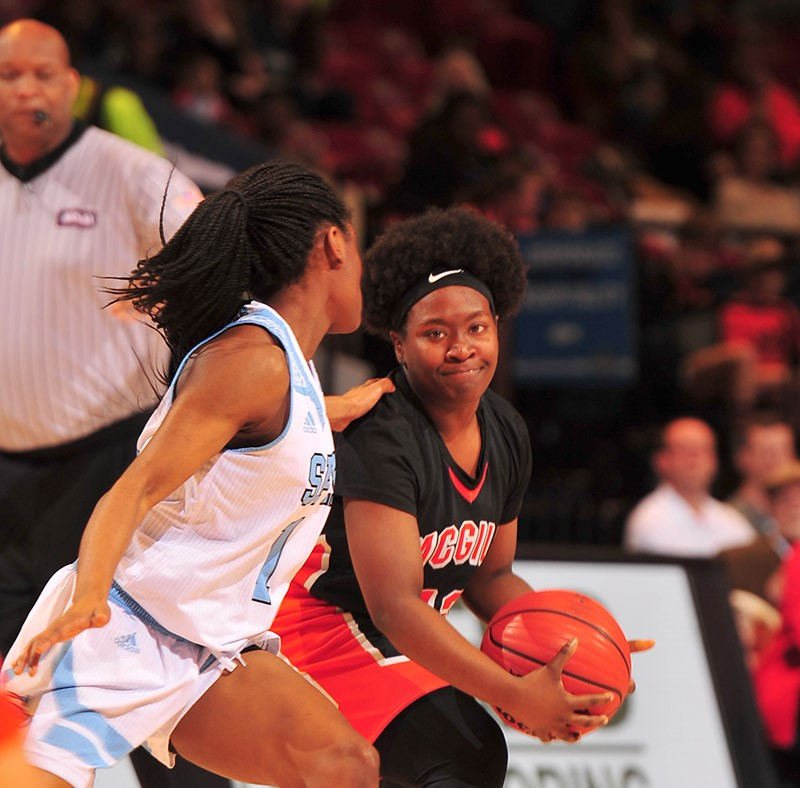 CLASS 7A GIRLS' CHAMPIONSHIP Spain Park 56, McGill-Toolen Catholic 26