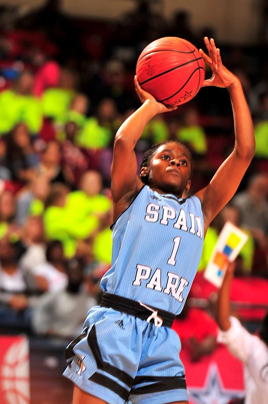 CLASS 7A GIRLS' SEMIFINALS Spain Park 60, Lee-Montgomery 51