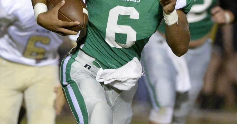 Meads Runs for 401 Yards to Make Stadium Dedication Extra Special for Hokes Bluff Coach