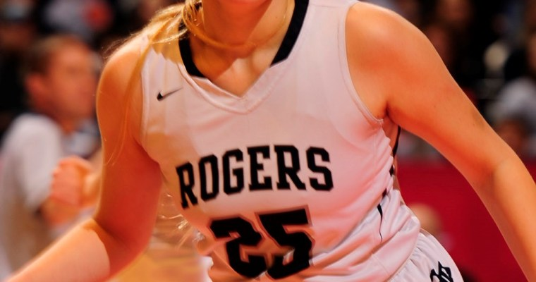 CLASS 4A GIRLS' STATE CHAMPIONSHIP  Rogers 46, Anniston 38
