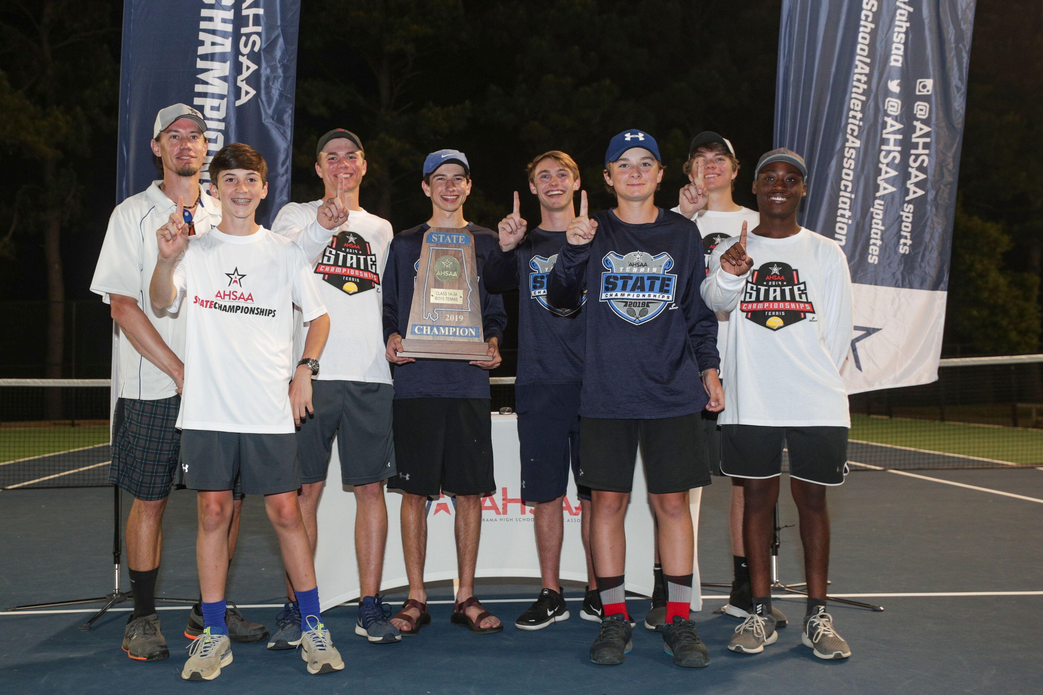 Houston Academy, Saint James Claim AHSAA Class 1A/3A Boys' and Girls' Tennis Championships