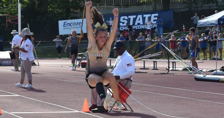 Winfield Takes Big Lead after Day 1 of 3A State Track Championships at Cullman