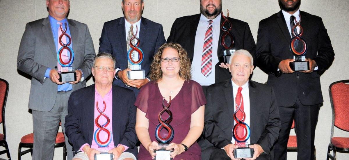 """Seven Receive """"Making A Difference"""" Awards at AHSAA 2019 Coaches' Awards Banquet"""
