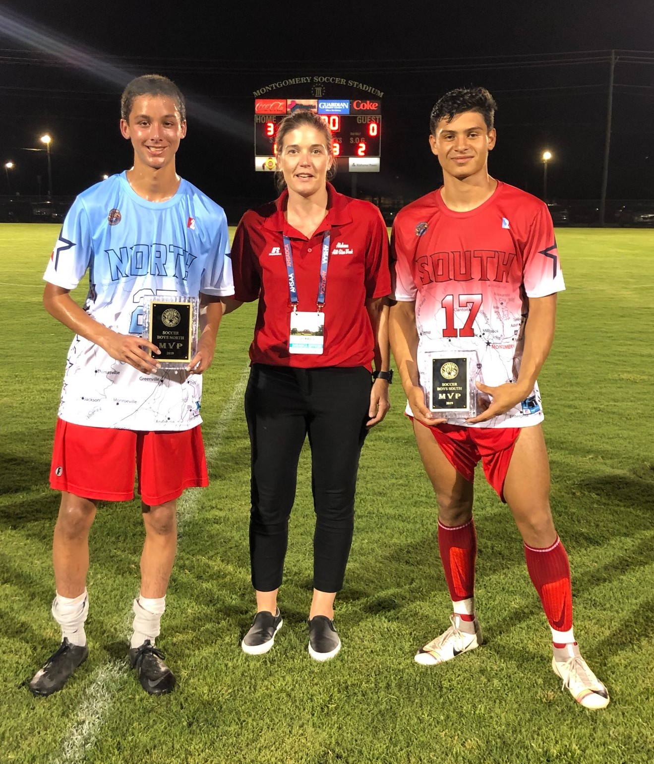 North-South Boys' All-Star Soccer North 3, South 0