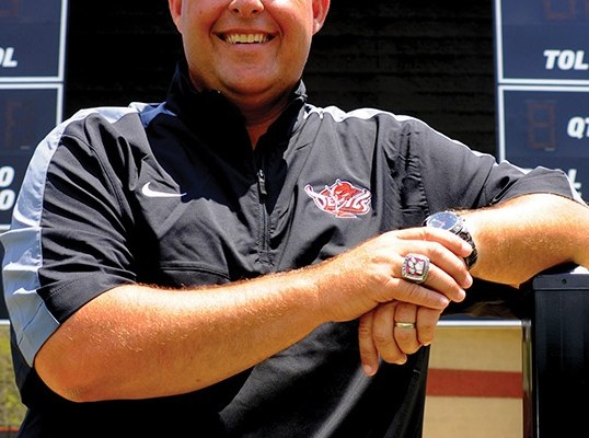 Central Football Coach Jamey DuBose Stepping Down as Red Devils Head Coach