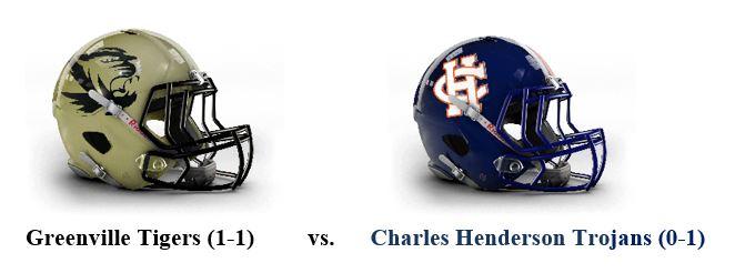 Greenville Meets Charles Henderson Tonight in Class 5A, Region 2 Clash
