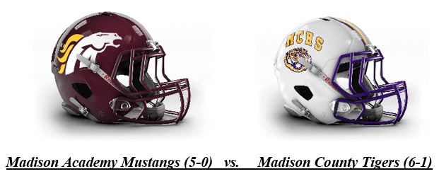 Madison County Hosts Madison Academy in AHSAA TV Network Game of the Week