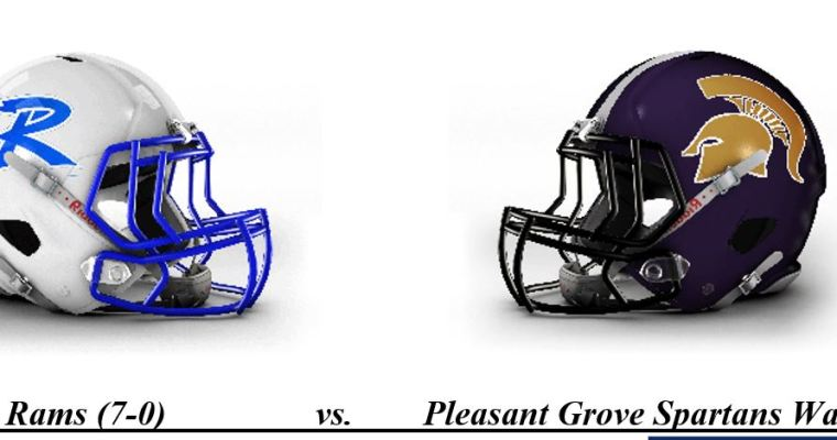 Ramsay-Pleasant Grove Showdown in Class 5A, Region 5 Is AHSAA TV Network Thursday GOW