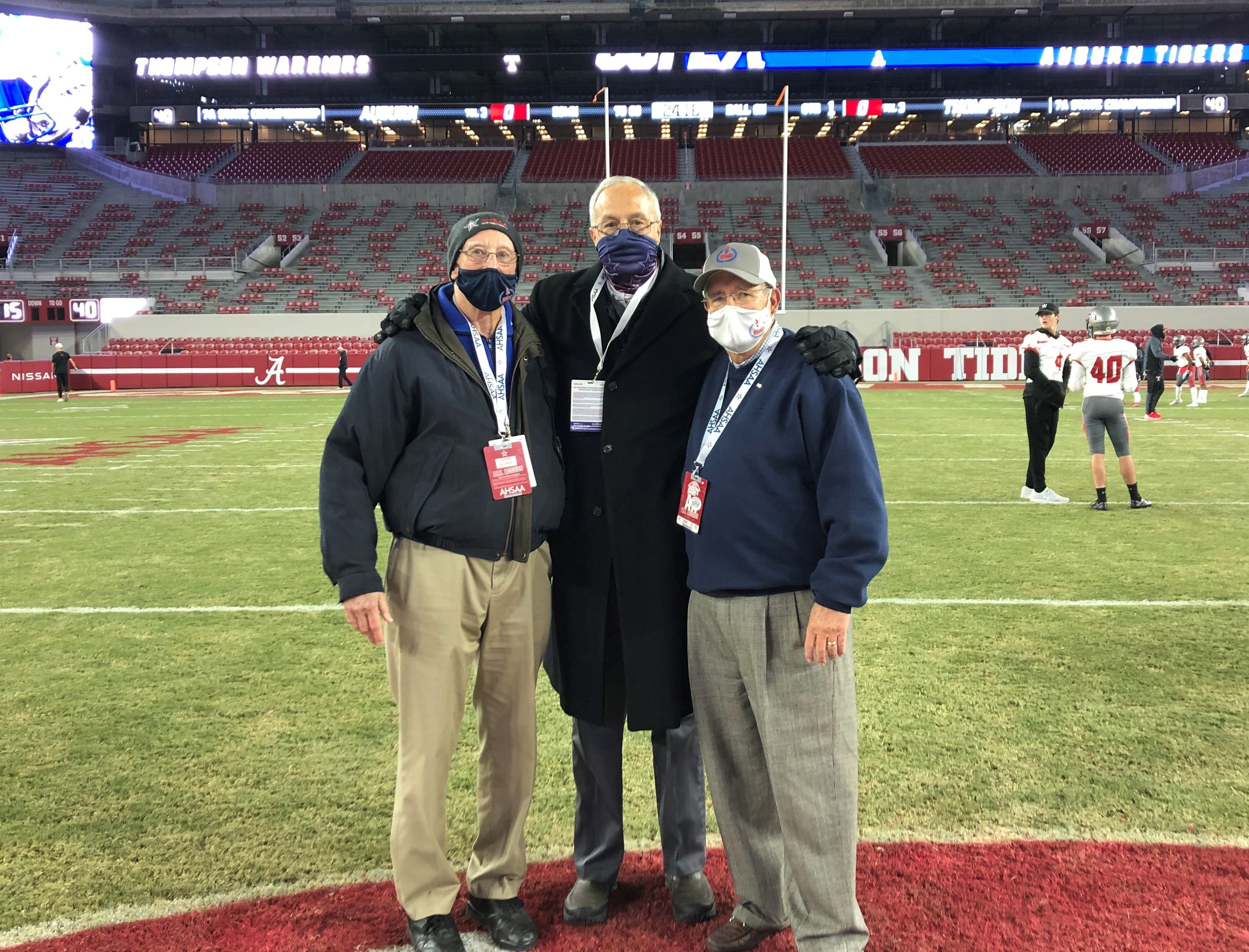 """ALABAMA SPORTS HALL OF FAME HONORS REEVES SIMS 2021 FRANK """"PIG"""" HOUSE AWARD"""
