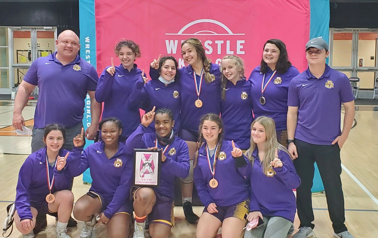 Daphne Claims Championship in First-Ever AHSAA Girls Wrestling Tournament at Hoover