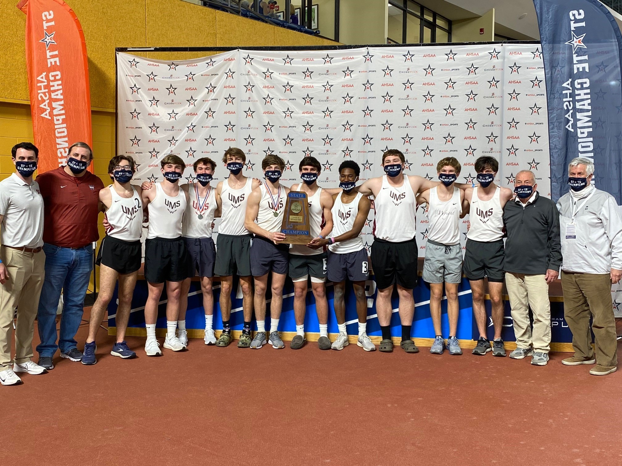 Brewbaker Tech, UMS-Wright Claim AHSAA 4A/5A Indoor Track Championships
