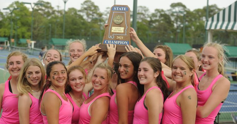 Mountain Brook Girls, Montgomery Academy Boys Claim AHSAA Class 6A State Tennis Championships