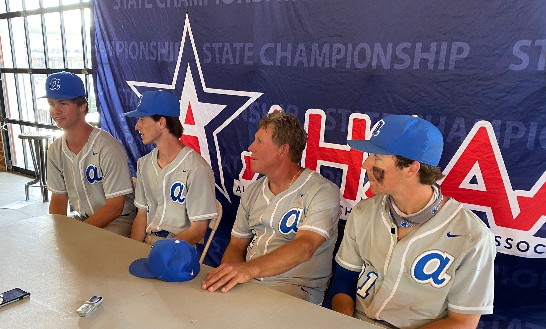 AHSAA STATE BASEBALL CHAMPIONSHIPS CLASS 7A Championships: Auburn 9-2-7, Hoover 2-8-6 (Auburn wins 7A title)
