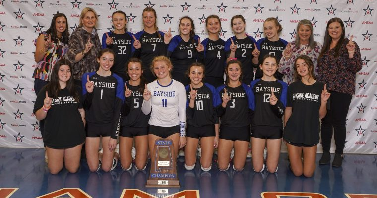 AHSAA 51st VOLLYBALL STATE CHAMPIONSHIPS CLASS 5A CHAMPIONSHIP: Bayside Academy 3, East Limestone 0