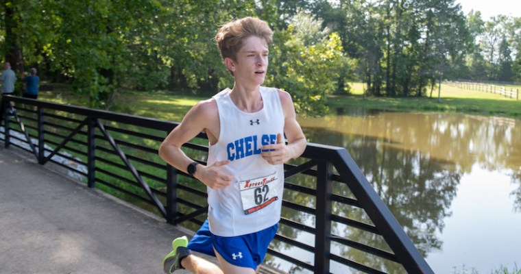 Chelsea's Miles Brush runs away with win for 2nd straight week