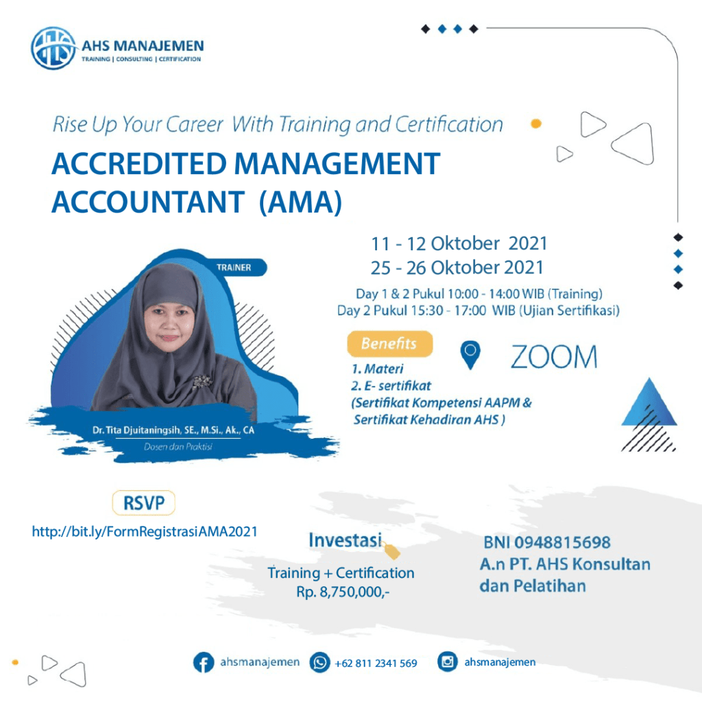 Accredited Management Accountant (AMA)