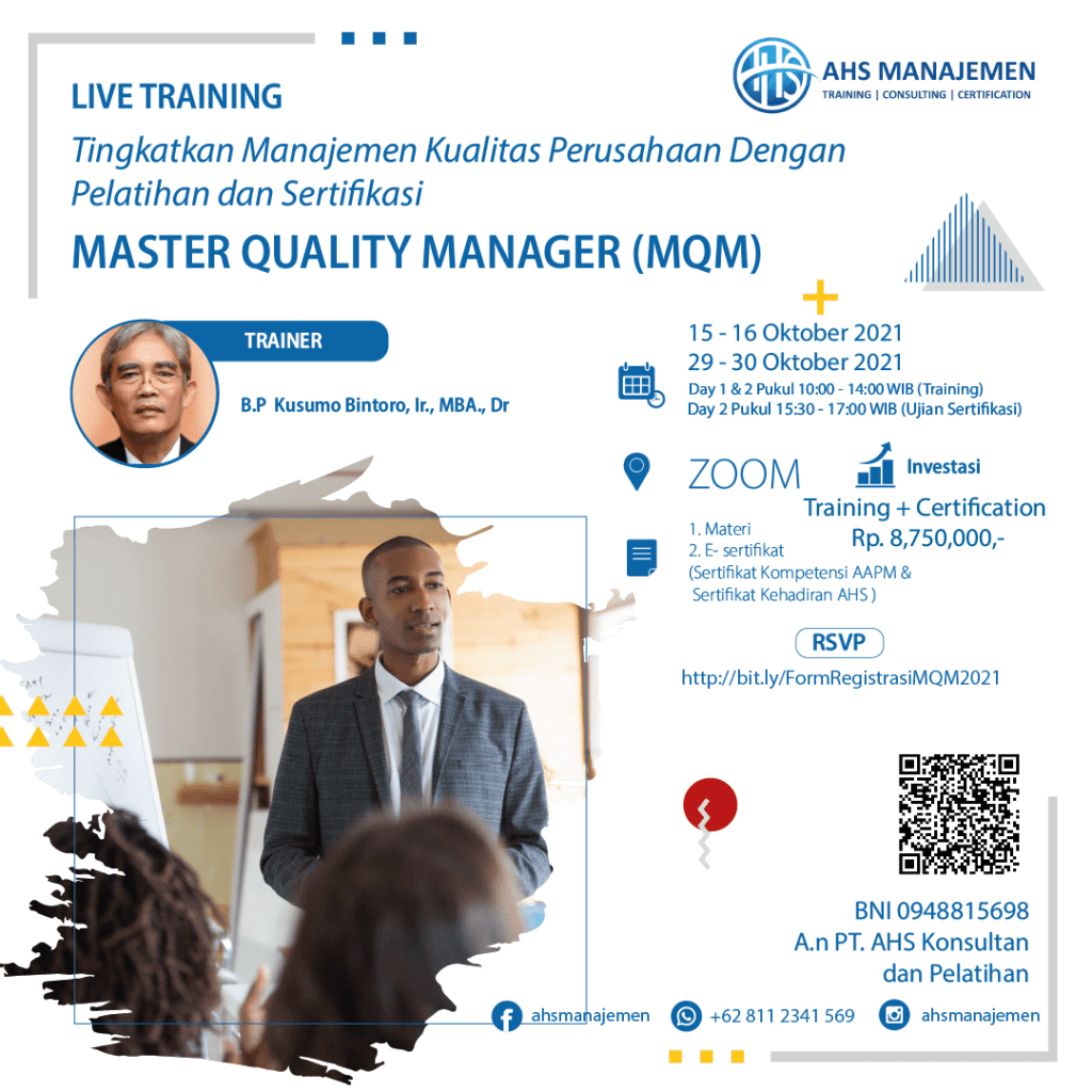 Master Quality Manager (MQM)