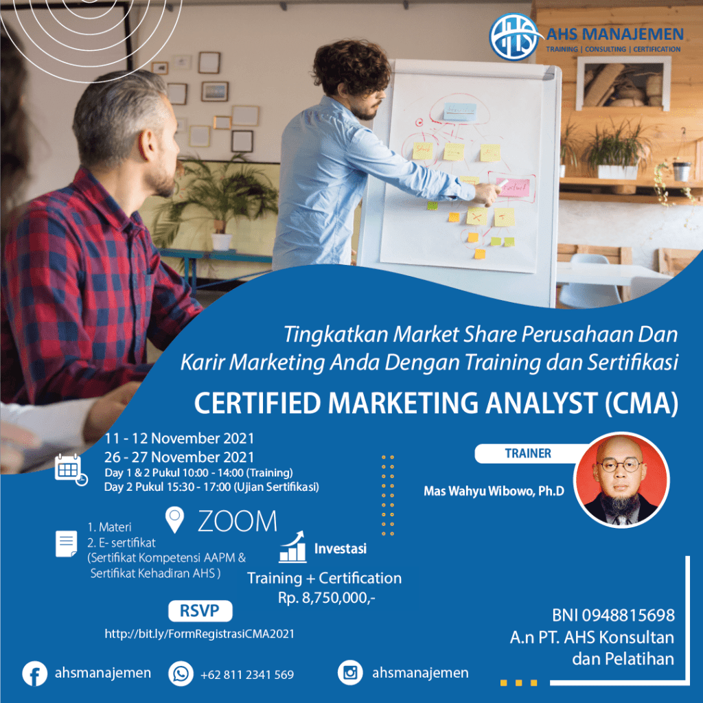 Certified Marketing Analyst (CMA)