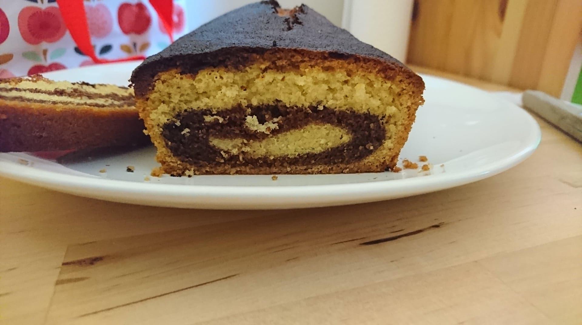 gâteau fait par les enfants de la micro-crèche de Chazelles