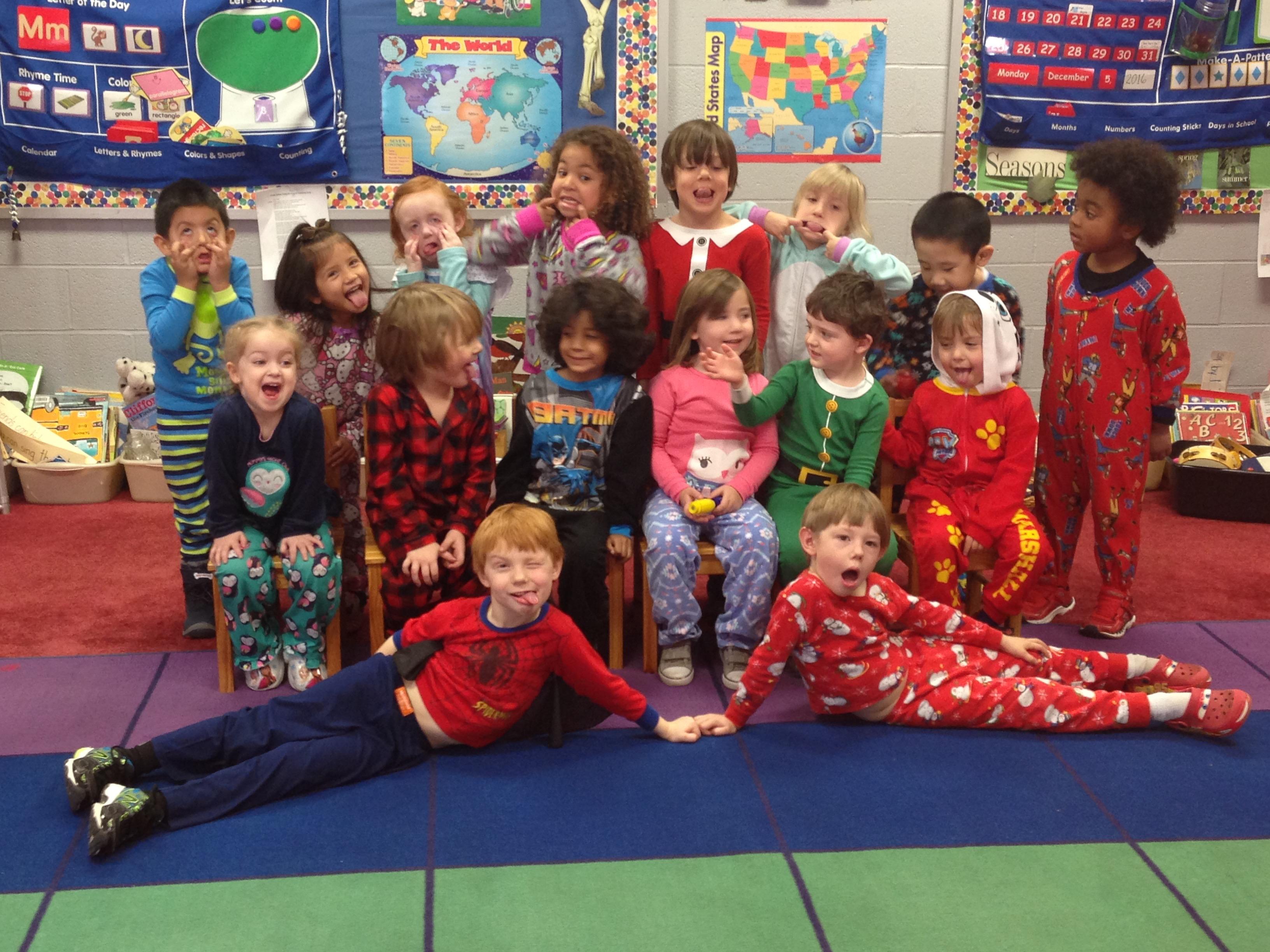 Polar Express Pajama Day Wear Your Pajamas To School On